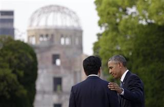 Obama Hiroshima After the Speech