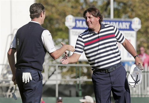 Phil Mickelson, Justin Rose