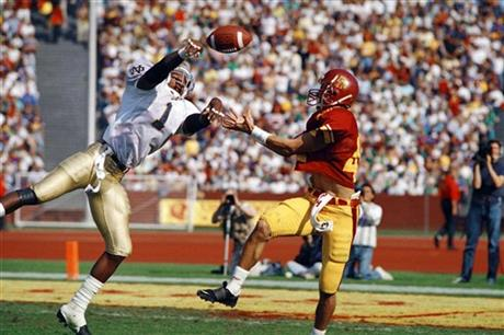 Notre Dame USC Memorable Games Football