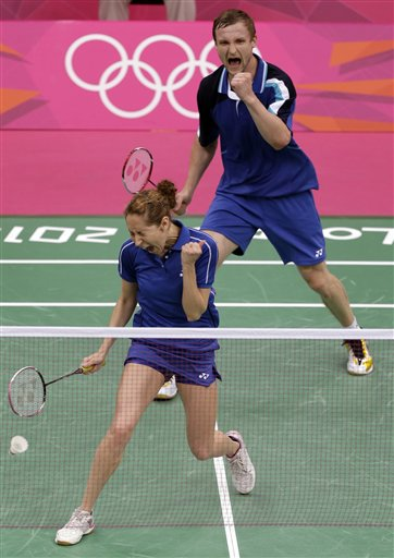 APTOPIX London Olympics Badminton