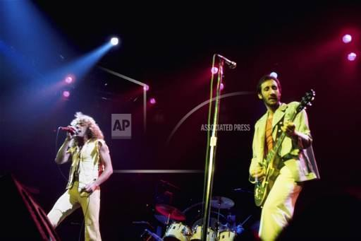 Associated Press Domestic News New York United States Entertainment, celebrities THE WHO TOUR