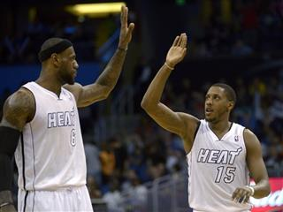 Mario Chalmers, LeBron James