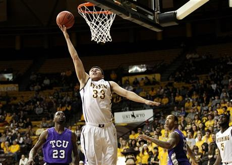TCU Wyoming Basketball