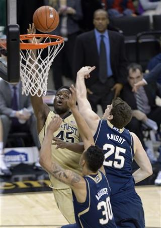 Notre Dame Wake Forest Basketball