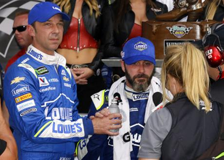 Jimmie Johnson, Chad Knaus,