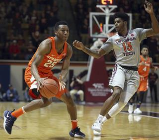 Syracuse Virginia Tech Basketball