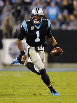 Panthers Newton Resurrection Day Football