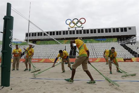 Rio Olympics Beach Volleyball