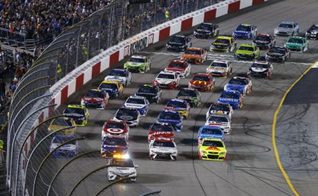 NASCAR Richmond Monster Energy Auto Racing