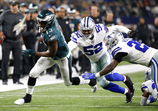 Nelson Agholor, Justin Durant, Xavier Woods