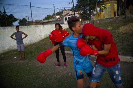 Cuba Women's Boxing Photo Gallery