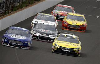 Kevin Harvick, Carl Edwards, Cole Whitt
