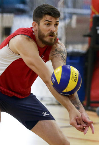 Rio Olympics Grounded Anderson Volleyball