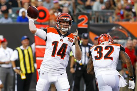 Andy Dalton, Jeremy Hill