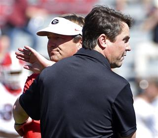 Will Muschamp, Kirby Smart