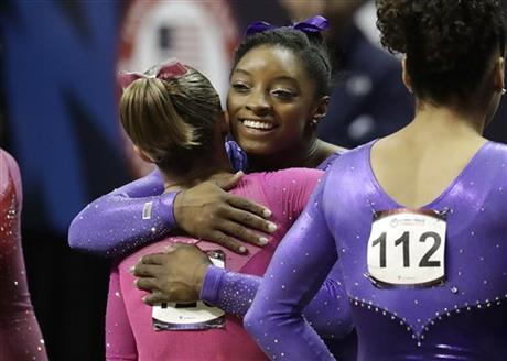 Simone Biles, Ragan Smith