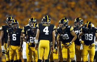 Iowa Running Woes Football