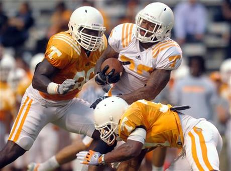 Tennessee Open Practice Football
