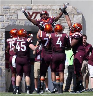 East Carolina Virginia Tech Football