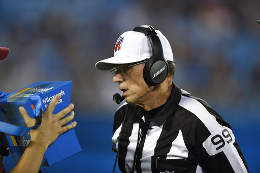 Officiating Technology Football