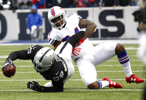 Raiders Bills Football
