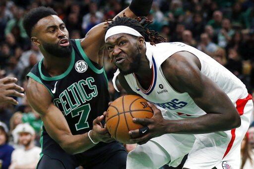 4495a07f02f Clippers rally from 28 down, beat Celtics 123-112 | AccessWDUN.com