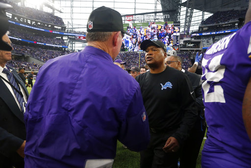 Jim Caldwell, Mike Zimmer