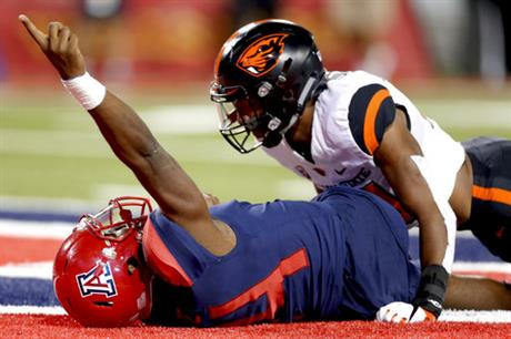 Oregon St Arizona Football