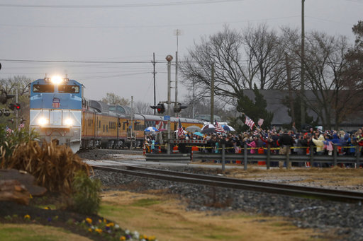 The Latest Cadets Line Route From Bush Train To Burial