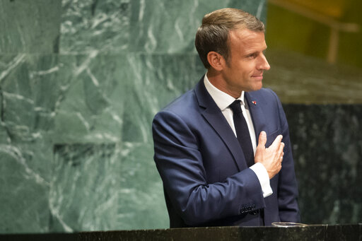 The Latest France S Macron Sees Chance For Us Iran Tal Accesswdun Com