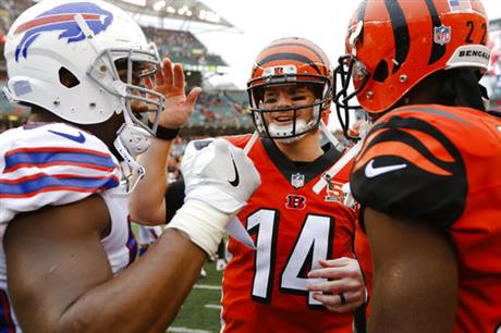 Andy Dalton, Jerry Hughes