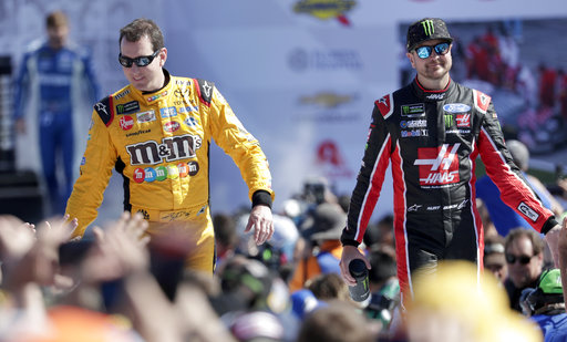 The Latest Kyle Busch Brings Out Caution In Daytona 50