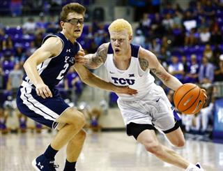 Yale TCU Basketball