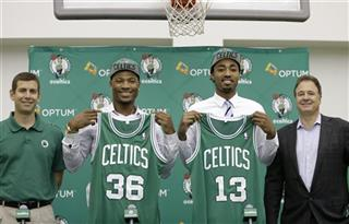 Brad Stevens, Marcus Smart, James Young, Stephen Pagliuca