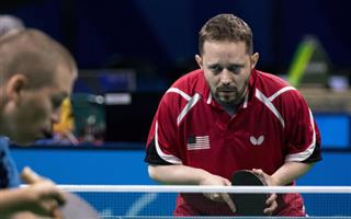 Homeless Paralympian Table Tennis