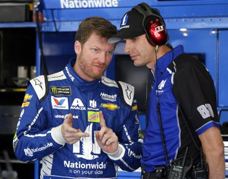Dale Earnhardt Jr, Greg Ives