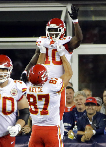 Tyreek Hill, Travis Kelce