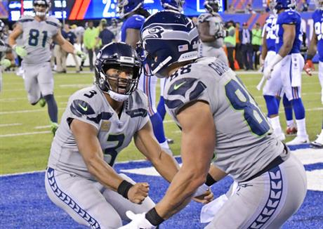Russell Wilson, Jimmy Graham