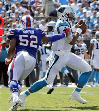 Cam Newton, Preston Brown