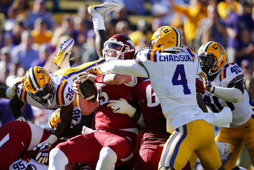 Arkansas LSU Football