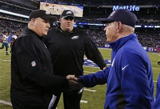 Chip Kelly, Tom Coughlin