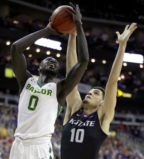 B12 Kansas St Baylor Basketball