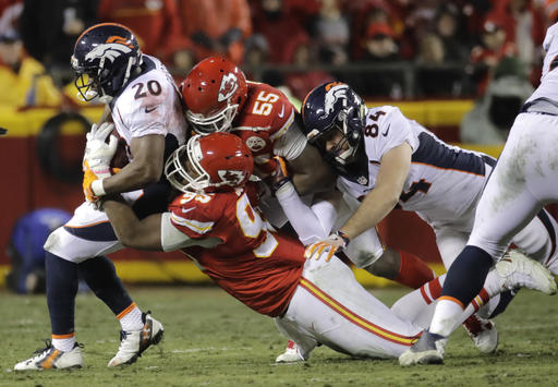 Henry Krieger-Coble, Justin Forsett, Chris Jones, Dee Ford