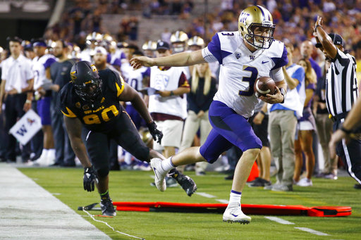 Jake Browning, Tashon Smallwood