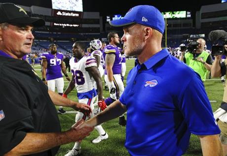 Mike Zimmer, Sean McDermott