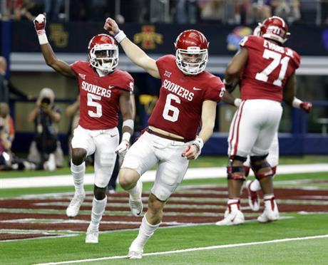 Baker Mayfield, Marquise Brown,