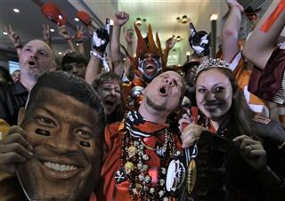 Buccaneers Fans Draft Party, Jameis Winston