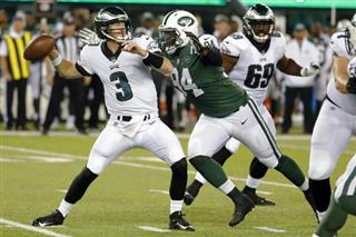 Jets Focused Football