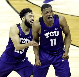 B12 TCU Kansas Basketball