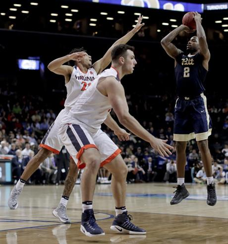 ACC Pittsburgh Virginia Basketball